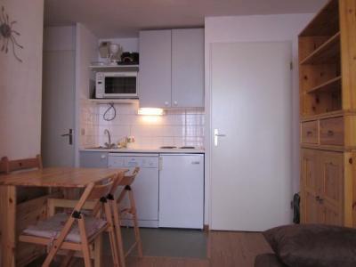 Location au ski Appartement 2 pièces coin montagne 4 personnes (202) - Résidence les Drus - La Plagne - Kitchenette