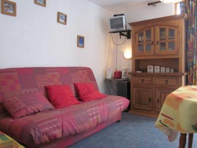 Location au ski Studio 3 personnes (166) - Résidence les Hameaux I - La Plagne - Canapé