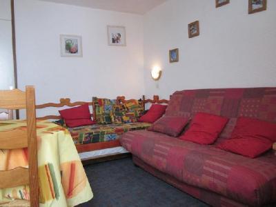 Location au ski Studio 3 personnes (166) - Résidence les Hameaux I - La Plagne - Canapé-lit