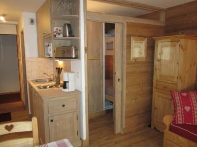 Location au ski Studio 3 personnes (302) - Residence Les Hameaux Ii - La Plagne