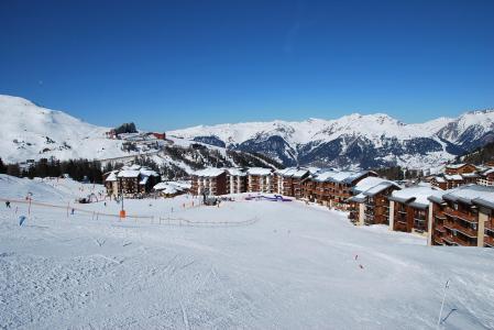 Location au ski Studio 3 personnes (214) - Résidence les Hameaux II - La Plagne - Extérieur hiver