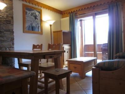 Location au ski Appartement 3 pièces 6 personnes (25A) - Résidence les Hauts Bois - La Plagne - Table