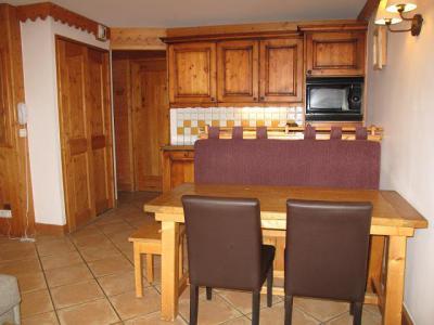 Location au ski Appartement 3 pièces 6 personnes (A24) - Résidence les Hauts Bois - La Plagne - Kitchenette