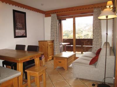 Location au ski Appartement 3 pièces 6 personnes (A24) - Résidence les Hauts Bois - La Plagne - Séjour