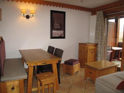 Location au ski Appartement 3 pièces 6 personnes (A24) - Résidence les Hauts Bois - La Plagne - Table
