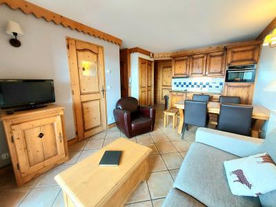 Location au ski Appartement 3 pièces 6 personnes (A38) - Résidence les Hauts Bois - La Plagne - Séjour