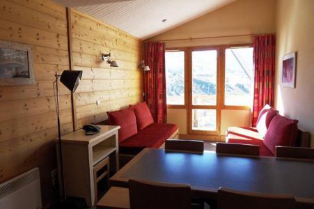 Rent in ski resort 4 room duplex apartment 8 people (706) - Résidence les Néréides - La Plagne - Bed-settee