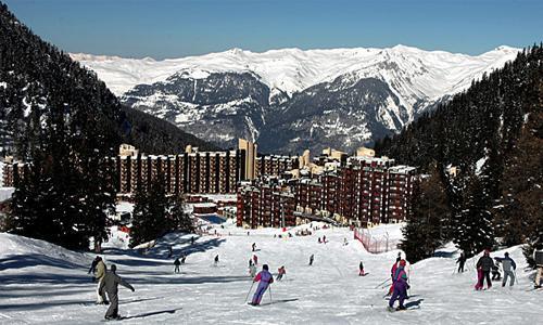 Location au ski Residence Maeva Bellecote - La Plagne - Extérieur hiver