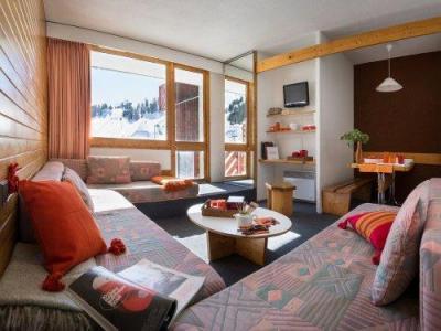 Location au ski Résidence Maeva Bellecôte - La Plagne - Séjour