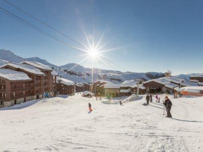 Location au ski Résidence Maeva Emeraude - La Plagne - Extérieur hiver
