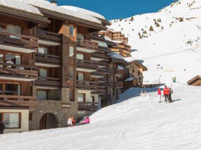 Location au ski Residence Maeva Emeraude - La Plagne - Extérieur hiver
