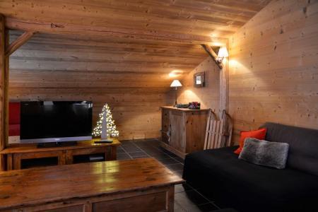 Аренда на лыжном курорте Апартаменты 4 комнат 8 чел. (ON511) - Résidence Onyx - La Plagne - зимой под открытым небом
