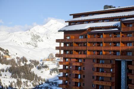 Vacances en montagne Résidence P&V Premium les Hauts Bois - La Plagne - Extérieur hiver