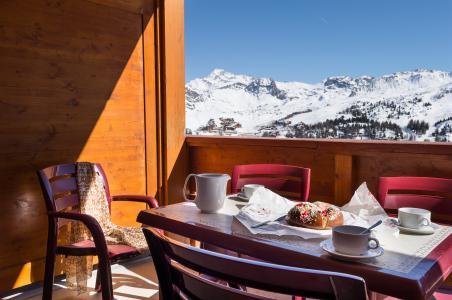Location au ski Résidence P&V Premium les Hauts Bois - La Plagne - Extérieur hiver