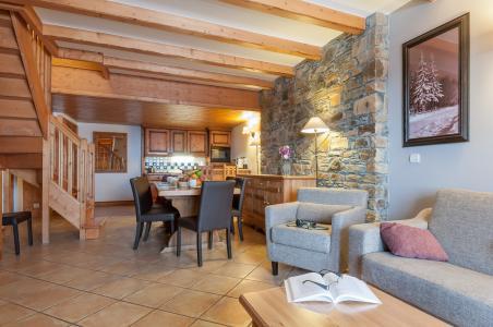 Location au ski Résidence P&V Premium les Hauts Bois - La Plagne - Coin repas