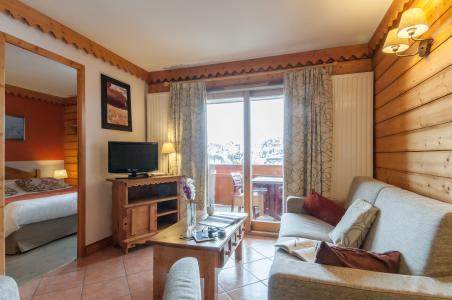 Location au ski Résidence P&V Premium les Hauts Bois - La Plagne - Coin séjour