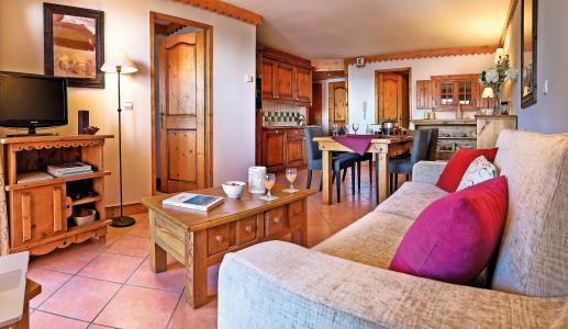 Location au ski Résidence P&V Premium les Hauts Bois - La Plagne - Séjour