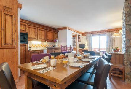 Location au ski Résidence P&V Premium les Hauts Bois - La Plagne - Table