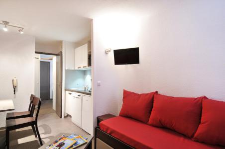 Location au ski Studio cabine 4 personnes (1) - Residence Pegase - La Plagne - Banquette