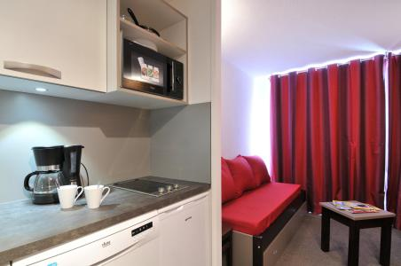 Location au ski Studio cabine 4 personnes (1) - Residence Pegase - La Plagne - Cafetière