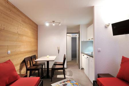 Location au ski Studio cabine 4 personnes (1) - Residence Pegase - La Plagne - Coin repas