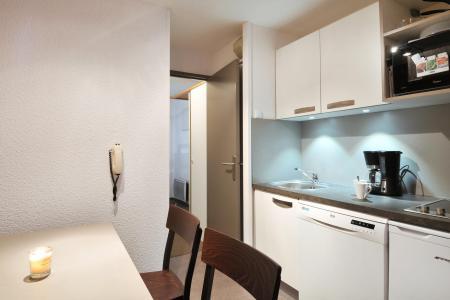 Location au ski Studio cabine 4 personnes (1) - Residence Pegase - La Plagne - Cuisine