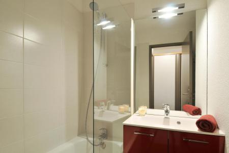 Location au ski Studio cabine 4 personnes (1) - Residence Pegase - La Plagne - Salle de bains