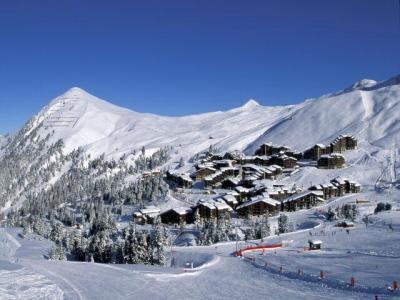 Аренда на лыжном курорте Квартира студия для 4 чел. (526) - Résidence Pierre de Soleil - La Plagne
