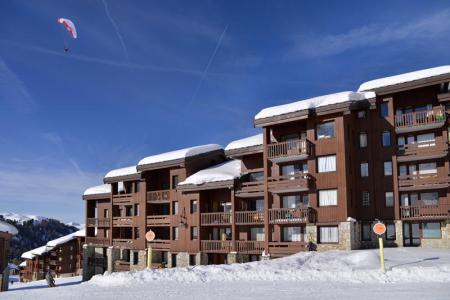 Аренда на лыжном курорте Résidence Pierre de Soleil - La Plagne - зимой под открытым небом