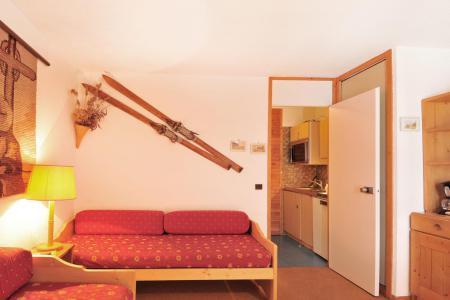 Аренда на лыжном курорте Квартира студия для 2 чел. (023) - Résidence Pierre de Soleil - La Plagne