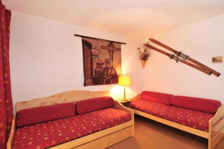 Аренда на лыжном курорте Квартира студия для 2 чел. (023) - Résidence Pierre de Soleil - La Plagne - Сиденье банкетка