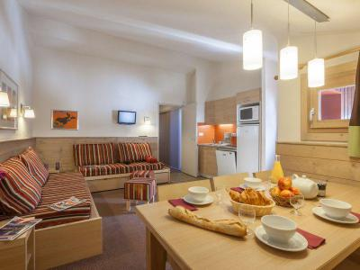 Location au ski Appartement 2 pièces cabine 7 personnes - Résidence Pierre et Vacances les Gémeaux - La Plagne