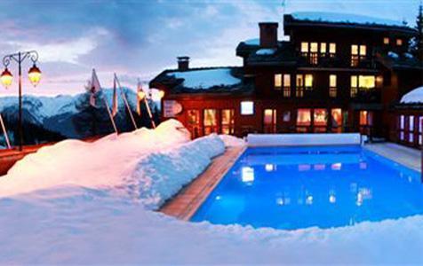 Location au ski Residence Pierre Et Vacances Plagne Lauze - La Plagne - Extérieur hiver