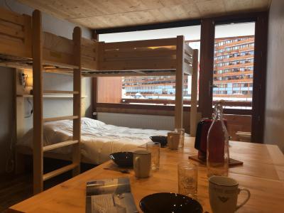 Location au ski Studio 4 personnes (32) - Résidence Plein Sud - La Plagne - Coin repas