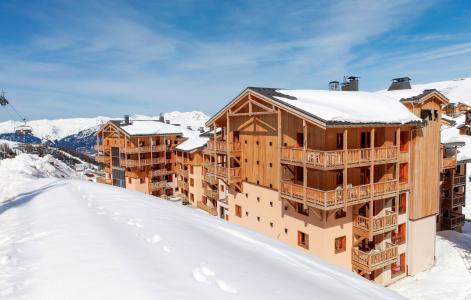 Rent in ski resort Résidence Prestige Front de Neige - La Plagne - Winter outside