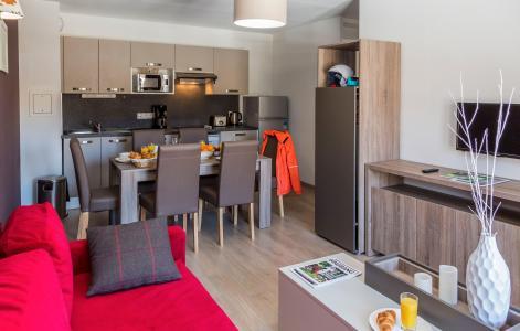 Rent in ski resort Résidence Prestige Front de Neige - La Plagne - Living room