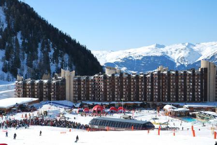 Location au ski Studio 4 personnes (206) - Résidence Saint Jacques - La Plagne - Extérieur hiver
