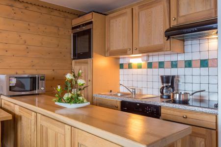 Аренда на лыжном курорте Résidence Sun Valley - La Plagne - Кухня