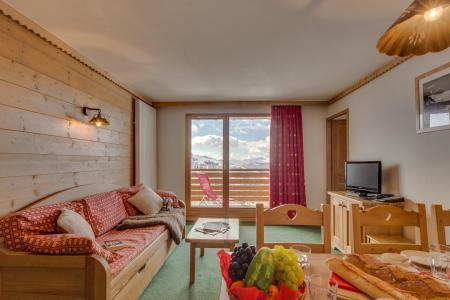 Аренда на лыжном курорте Résidence Sun Valley - La Plagne - Салон