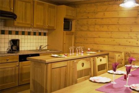 Location au ski Residence Sun Valley - La Plagne - Salle à manger