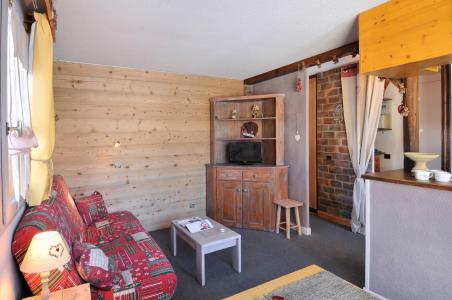 Аренда на лыжном курорте Апартаменты 2 комнат 5 чел. (02) - Résidence Turquoise - La Plagne - Салон