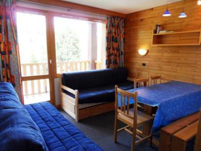 Аренда на лыжном курорте Апартаменты 2 комнат 5 чел. (107) - Résidence Turquoise - La Plagne