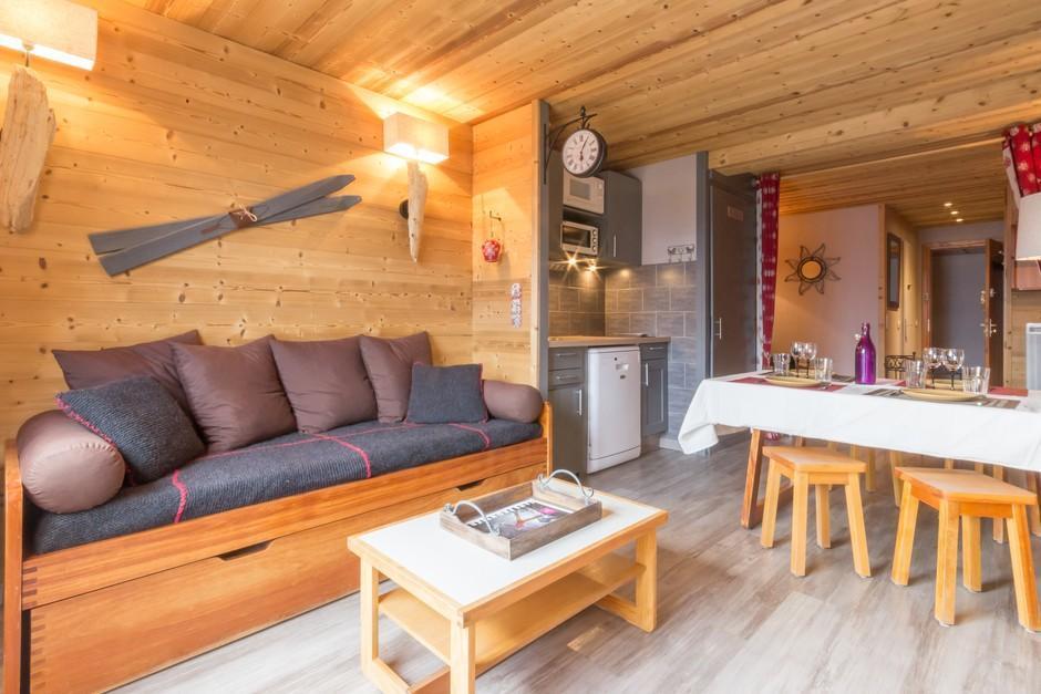 Ski en mars Residence Les Gentianes