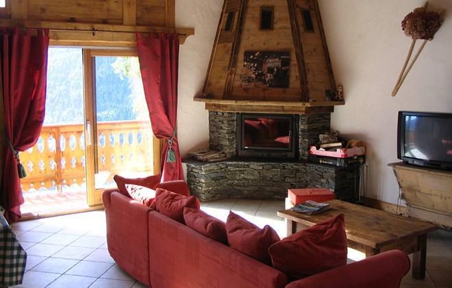 Location au ski Chalet Gaiduch - La Rosière - Canapé-lit