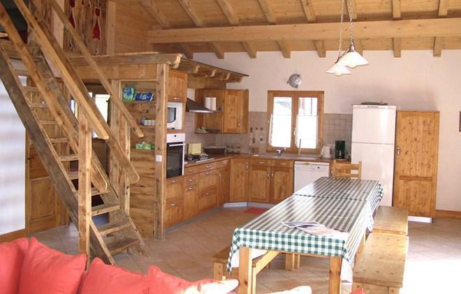 Location au ski Chalet Gaiduch - La Rosière - Kitchenette