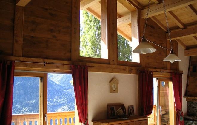 Location au ski Chalet Gaiduch - La Rosière - Séjour
