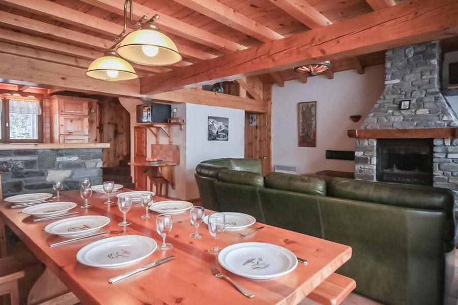 Location au ski Chalet 6 pièces 10 personnes - Chalet les Digitales - La Rosière - Table