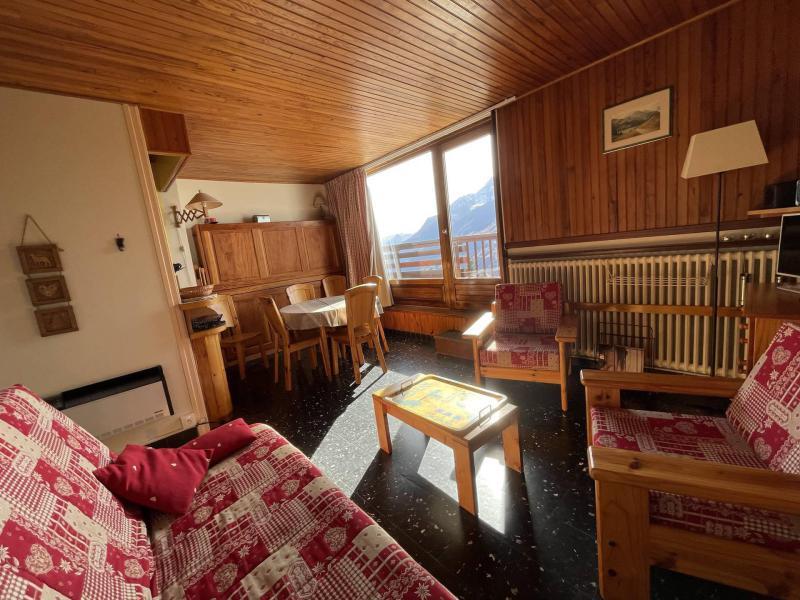 Rent in ski resort 2 room apartment sleeping corner 6 people (23) - La Résidence les Chavonnes - La Rosière - Dining area