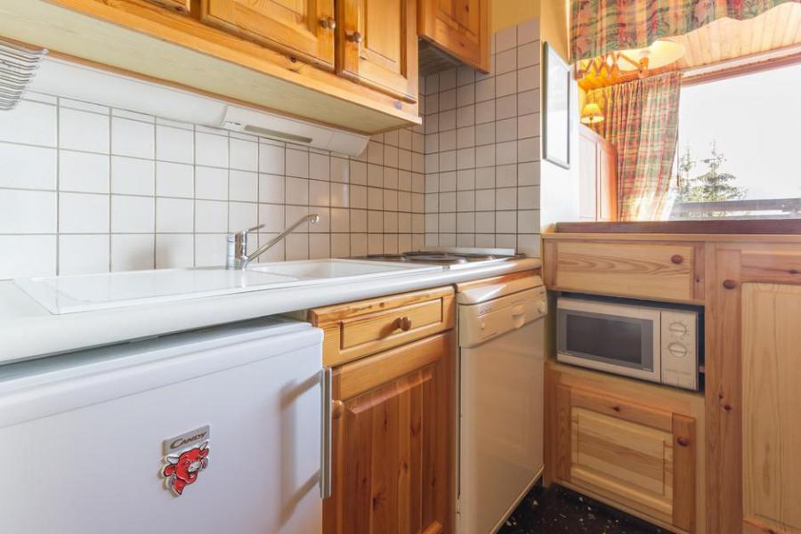 Rent in ski resort 2 room apartment sleeping corner 6 people (23) - La Résidence les Chavonnes - La Rosière - Kitchen