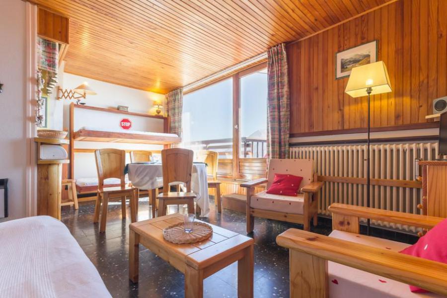 Rent in ski resort 2 room apartment sleeping corner 6 people (23) - La Résidence les Chavonnes - La Rosière - Living room